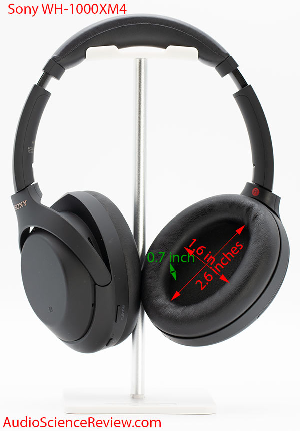 Sony WH-1000XM4 review noise cancelling headphone bluetooth dimensions.jpg