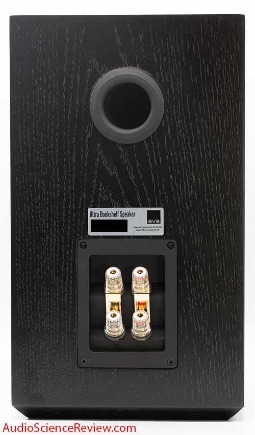 SVS Ultra Bookshelf 2-way Speaker Home Theater Back Panel Binding Posts Audio Review.jpg