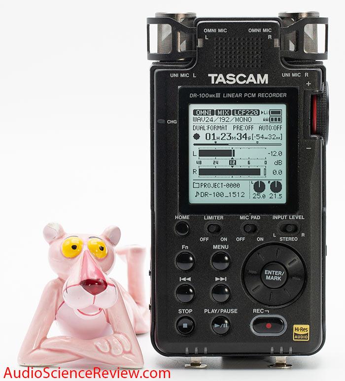Tascam DR-100 mk iii studio-quality 192kHz 24-bit PCM Recorder Audio Review.jpg