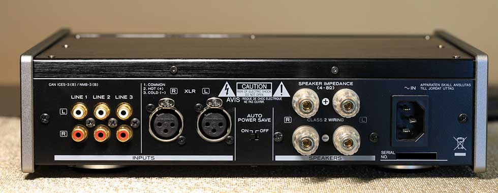 Teac AX-501 Integrated Amplifier Back Panel Audio Review.jpg