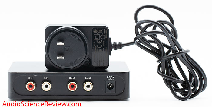 Topping A50s Headphone Amplifier back panel RCA Power Supply stereo review.jpg