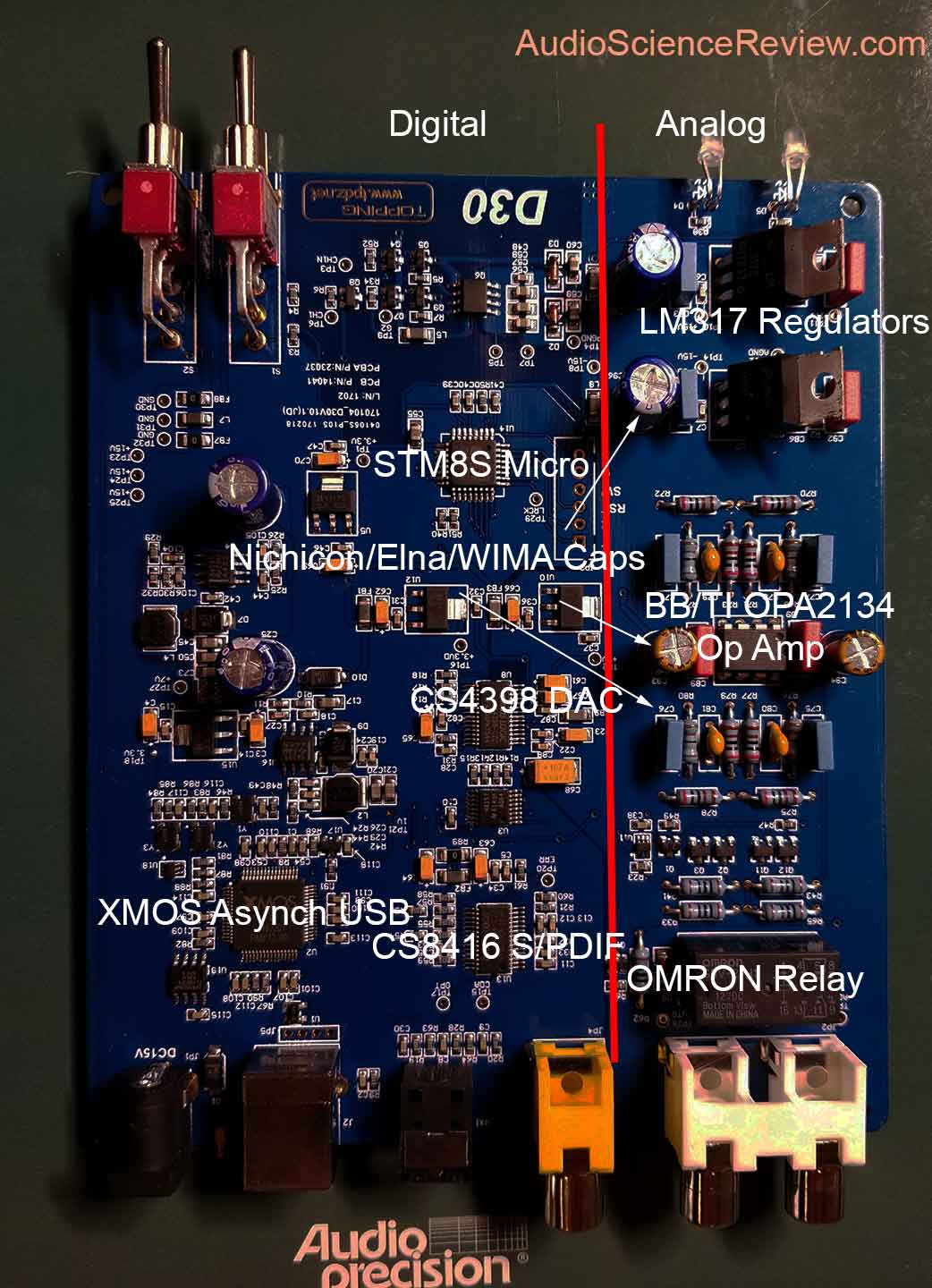 Topping D30 USB DAC Top Board Teardown.jpg