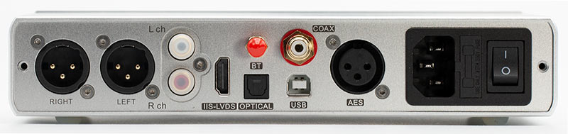 Topping D90 Balanced USB DAC XLR Back Panel Connectors Inputs Audio Review.jpg