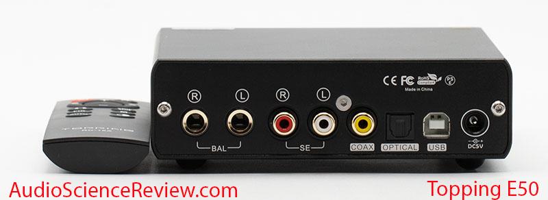 Topping E50 Review DAC back panel Balanced USB.jpg