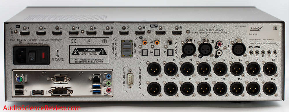 Trinnov Altitude 16 Review Dolby Atmos Optimizer HDMI Back Panel XLR Home Theater Processor.jpg