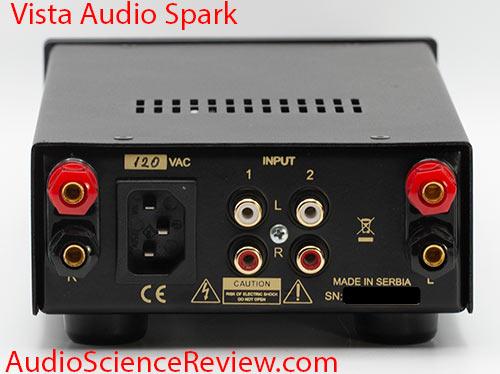 Vista Audio Spark Review Amplifier back panel.jpg