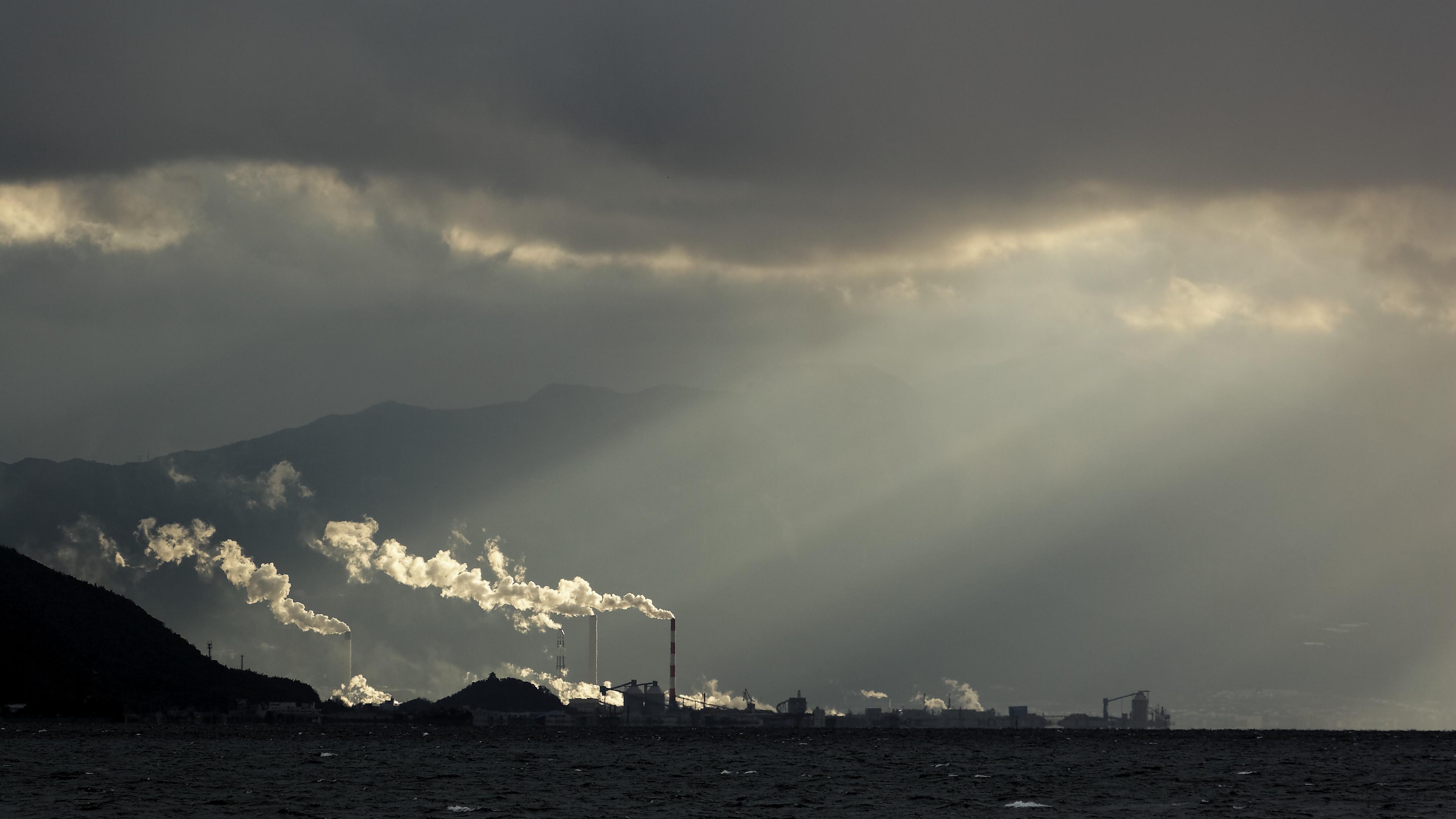 Winter storm over Iyo Saijo, Ehime.jpg