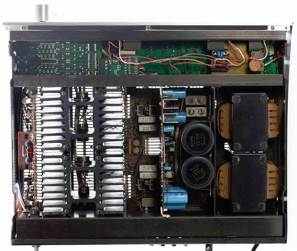 Yamaha A-1 Stereo Amplifier teardown PCB inside.jpg