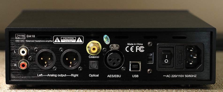 Yulong DA10 Balanced DAC and Headphone Amplifier Back Panel Audio Review.jpg